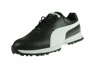 Puma Golf Ace Zapatos De Golf Impermeable Negro 188658 04