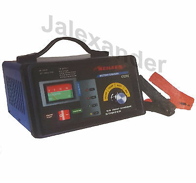 3 In 1 Car Van Truck  2 10 55 Amp Jump Engine Starter Trickle & Battery Charger
