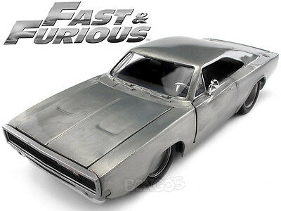 Fast & Furious - Dom's 1970 Dodge Charger R/T 1:24 Scale Diecast Model (Raw)