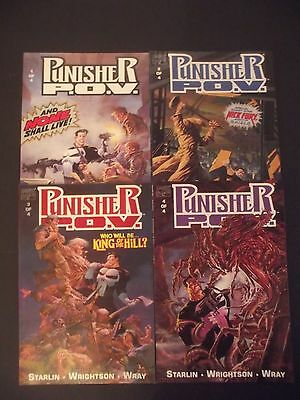 PUNISHER P.O.V  1-4 ..NM-..1991...JIM STARLIN/BERNIE WRIGHTSON...Bargain!