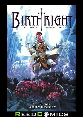 BIRTHRIGHT VOLUME 4 FAMILY HISTORY GRAPHIC NOVEL New Paperback Collects #16-20