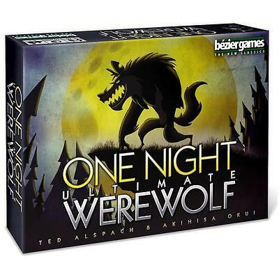 NEW One Night Ultimate Werewolf Card Board Game Seer Troublemaker Bezier Games