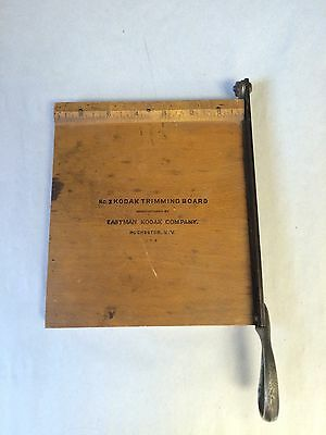 Vintage Kodak No. 2 Trimming Cutting Board Eastman Kodak Company