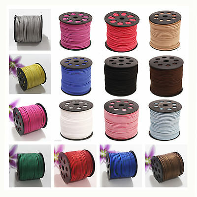 wholesale  Suede Leather String Jewelry Making Thread Cords Jewellery DIY 5mm