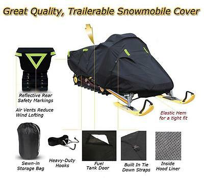 Trailerable Sled Snowmobile Cover Polaris Indy 500 1997 1998 1999 2000 2001 2002