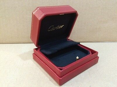 Cartier Vintage Jwelery small earring box mint in condition ( 8003 )