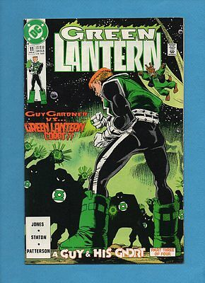 Green Lantern #11 DC Comics April 1991 Guy Gardner Gnort