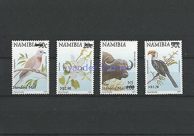 Namibia 2005 Flora and Fauna Stamps of 1997 Surcharged. MNH