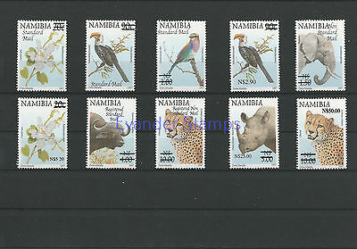 Namibia 2005 Flora and Fauna Stamps of 1997 Surcharged. MNH B1