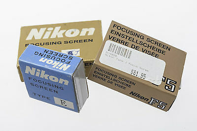 Nikon Focusing Screens Bundle