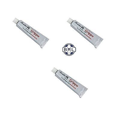 3 x HENSILITE GRIPPO POLISH & WAX TUBES (no packaging) 40g TUBE