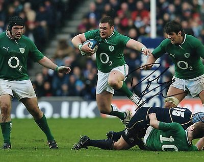 "David Kilcoyne Hand Signed Munster/Ireland 10"" x 8"" Rugby Union Photo."
