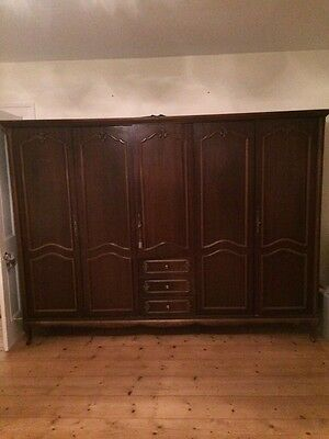 french wardrobe armoire louis XV style Large - Maybe Ideal Shabby Chic