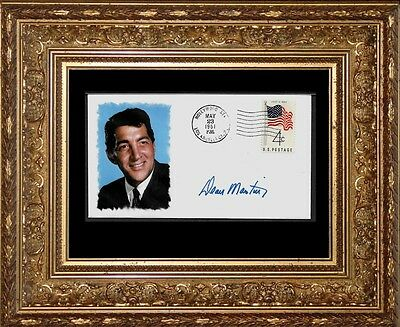 Dean Martin Rat Pack Limited Edition Collector's Envelope Repro Autograph 980