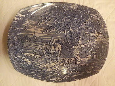 "Wood & Sons  "" Woodland "" Plate"