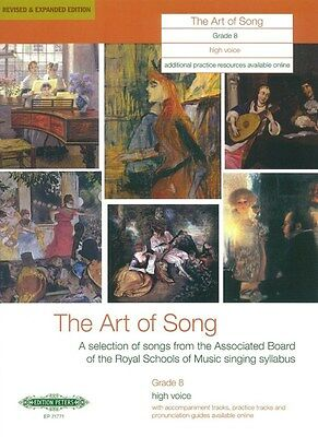 Art Of Song Grade 8 (High Voice) - Revised Edition. Sheet Music