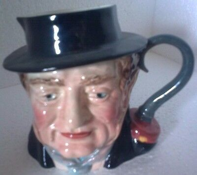 Vintage : Beswick medium sized hand painted Character Jug - Captain Cuttle 1.120