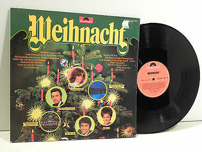 ★Lp Weihnacht Wencke Myhre Peter Alexander Roy Black And Others Polydor ★3W38★