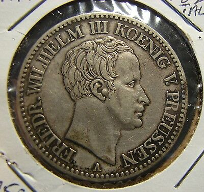 Germany Prussia 1824 Silver Thaler