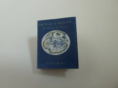 Dolls House Miniature 1:12 Scale Library Printed Prince Caspian Book