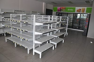 Supermarket / Retail Shelving / Modular Racks Gondola Shop Fitout