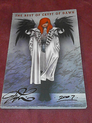 The Best of Crypt of Dawn (2000) SIGNED by Joseph Michael Linsner