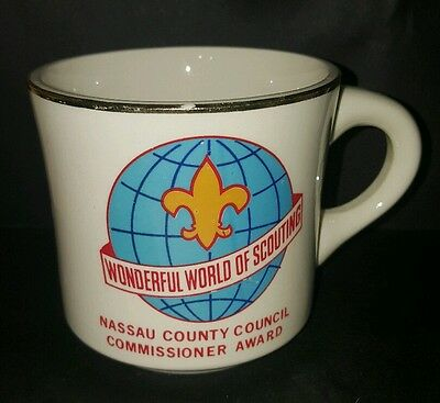 Vtg BSA Wonderful World of Scouting Nassau County Commisioner Award Boy Scouts