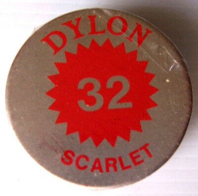 1 X Dylon Fabric Dye # 32 Scarlet Red New With Instructions