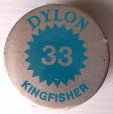 1 X Dylon Fabric Dye # 33 Kingfisher New With Instructions