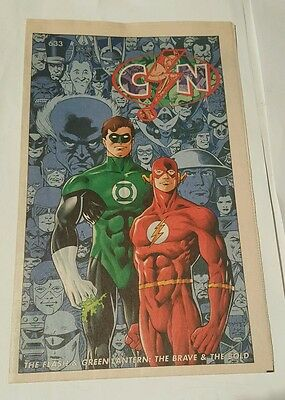 csn # 633 flash & green lantern