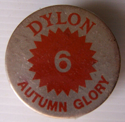 1 X Dylon Fabric Dye # 6 Autumn Glory New With Instructions