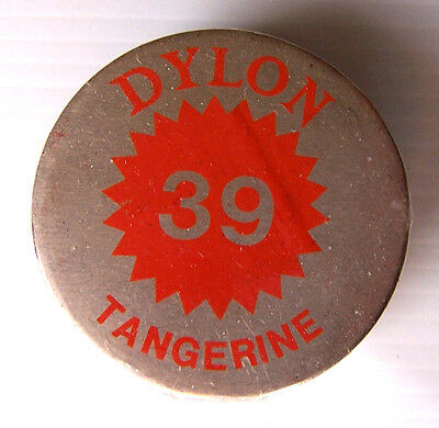 1 X Dylon Fabric Dye # 39 Tangerine New With Instructions