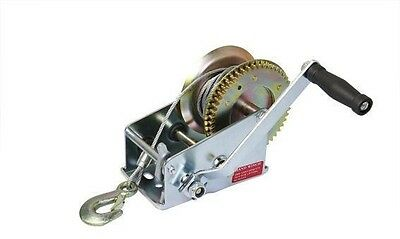 1000lb Boat Winch hand winch manual winch hand puller pulling hoist wire rope