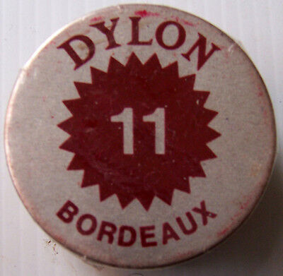 1 X Dylon Fabric Dye # 11 Bordeaux New With Instructions