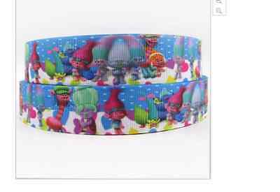 Movie Trolls ribbon 1m long 1' wide