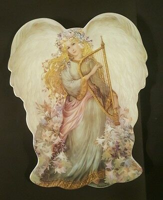 Serenity's Song by Nadeghda Strelkina A Symphony of Angels 97 Angel Shaped Plate