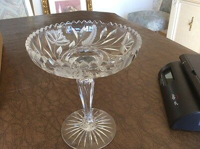 patterned glass candy dish