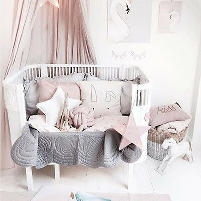 Kids/girls Princess Bed Canopy Insect Mosquito Net Pink Baby Reading Play Tents