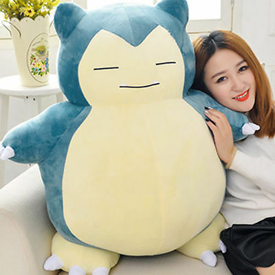 Kid Xmas Valentine's Day Gift JUMBO Snorlax Pokemon Center Plush Toy Game Doll