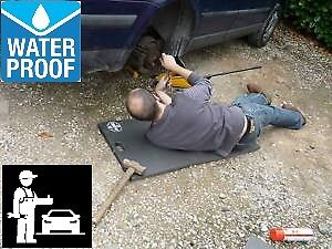mechanic handyman work mat 1mtr x 500m waterproof no more wet knees or sore bum
