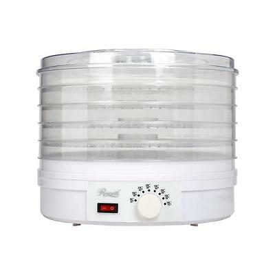 5 Tray Adjustable Thermostat Controllable Temperature Electric Food Dehydrator