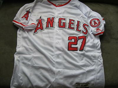 Los Angeles Angels Mike Trout Home Jersey 44 L