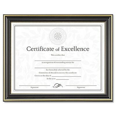 DAX Gold-Trimmed Document Frame with Certificate - N2709N6T