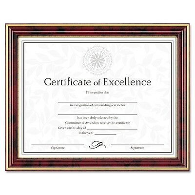 DAX Gold-Trimmed Document Frame with Certificate - N2709N7T