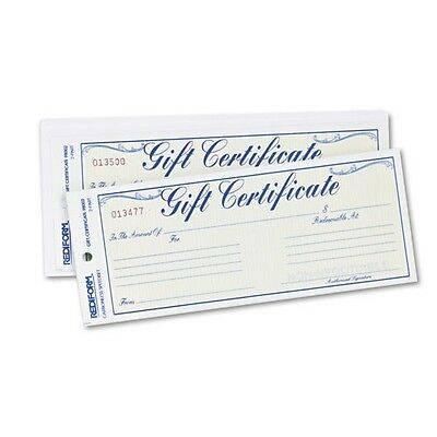 Rediform Gift Certificate with #10 Envelope - 98002