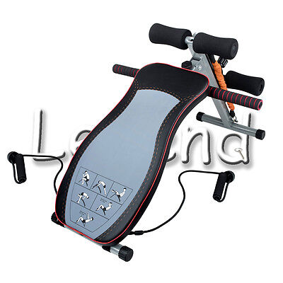 Folding Adjustable Sit Up  Chest Press Gym Weights Multi Exercise Bench Home