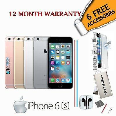 Apple iPhone 6S 64GB - Gold /Silver /Rose gold /Grey - Unlocked To All Networks