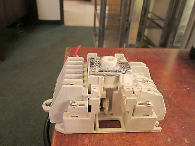 """Asco Lighting Contactor 917 92031 120V Coil 20A """"Chipped"""" Used"""