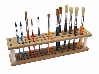 Major Brushes Mdf brush holder stand holds up to 45 brushes artist paint crafts