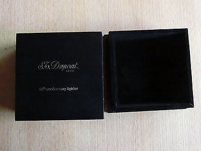 S.T. Dupont Limited Edition 2001 60th Anniversary Lighter Nur die Box!